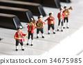 音乐 钢琴 演奏 34675985