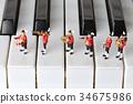 音樂 樂譜 鋼琴 34675986
