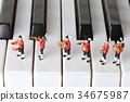 音乐 钢琴 演奏 34675987