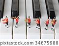 音乐 钢琴 演奏 34675988