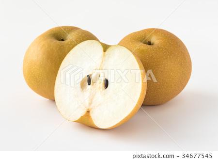 배 행복 水梨 과일 과일 34677545