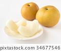 배 행복 水梨 과일 과일 34677546
