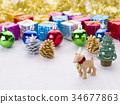 馴鹿 聖誕時節 聖誕節 34677863