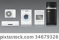 Air conditioning, washing machine, gas hob and 34679326