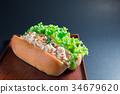 tuna Burger 34679620