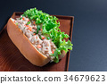 tuna Burger 34679623