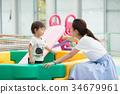 父母和小孩 親子 玩耍 34679961