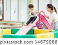 父母和小孩 親子 家人 34679966