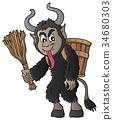 Krampus scary spooky 34680303