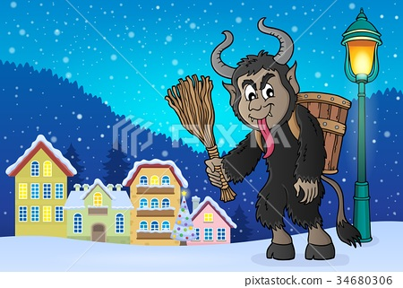 Krampus theme image 4 34680306