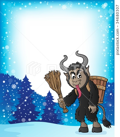 Krampus theme image 5 34680307
