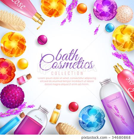 Bath Cosmetics Concept  34680868