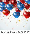 裝飾性的 氣球 汽球 34681517