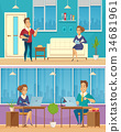 banner character office 34681961