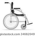 wheelchair disabled vector 34682049