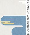 日本纸 - 日本模式 - 背景 - 现代 34682263