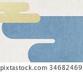 日本纸 - 日本模式 - 背景 - 现代 34682469