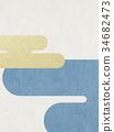 日本纸 - 日本模式 - 背景 - 现代 34682473