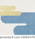 日本纸 - 日本模式 - 背景 - 现代 34682476