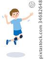 排球 男孩 男孩们 34682648
