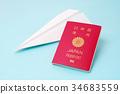 พับเครื่องบินกระดาษ,เครื่องบิน,เครื่องบินโดยสาร 34683559