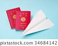 พับเครื่องบินกระดาษ,การเดินทาง,ท่องเที่ยว 34684142
