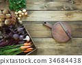 vegetable fresh board 34684438