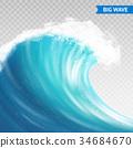 背景 波浪 波动 34684670