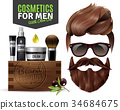 poster cosmetics male 34684675