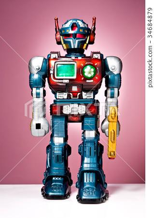 Robots, toys 34684879