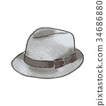 Hat illustration 34686880