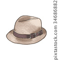 Hat illustration 34686882