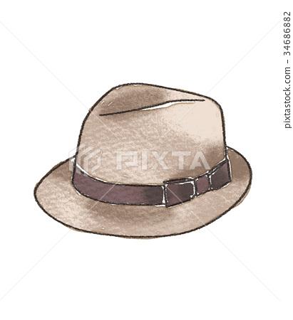 Hat illustration 34686882