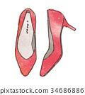 Illustration of pumps 34686886