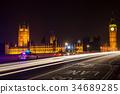 Police Cars Ambulance, Westminster Bridge, London 34689285