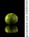 黑色 水果 綠色 34690365