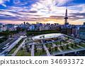 nagoya, tv, tower 34693372