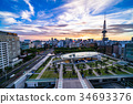 nagoya, tv, tower 34693376