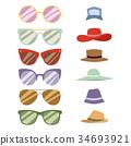 矢量 矢量图 帽子 34693921