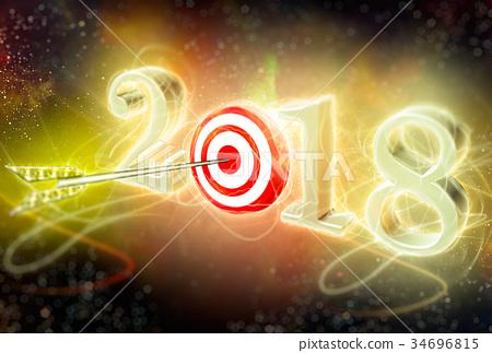 2018 目标 箭 34696815
