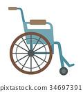 vector wheelchair chair 34697391