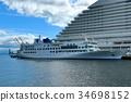 크루즈, 배, 여객선 34698152
