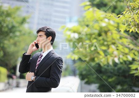 商务人士 商人 男性白领 34700002