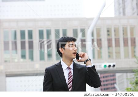 商务人士 商人 男性白领 34700556