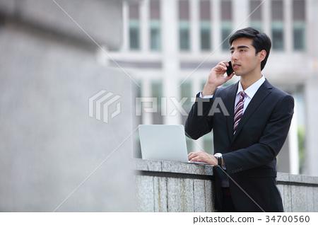 商务人士 商人 男性白领 34700560