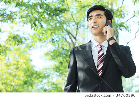 商务人士 商人 男性白领 34700590