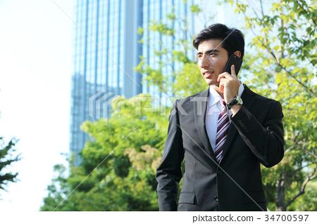 商务人士 商人 男性白领 34700597