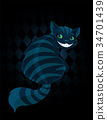 Cheshire Cat 34701439