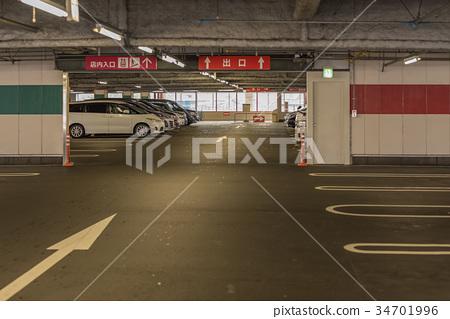 室內停車場 34701996