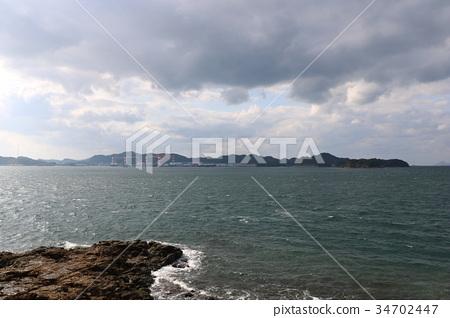 The sea of Nagasaki 34702447